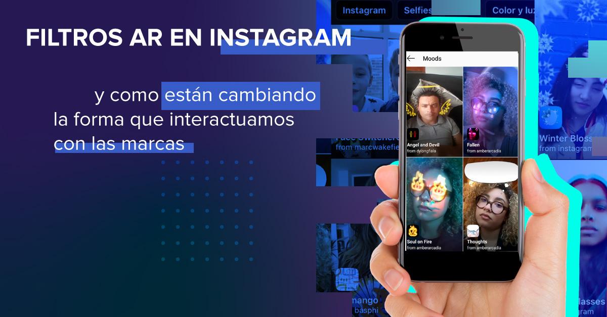 Filtros AR en Instagram