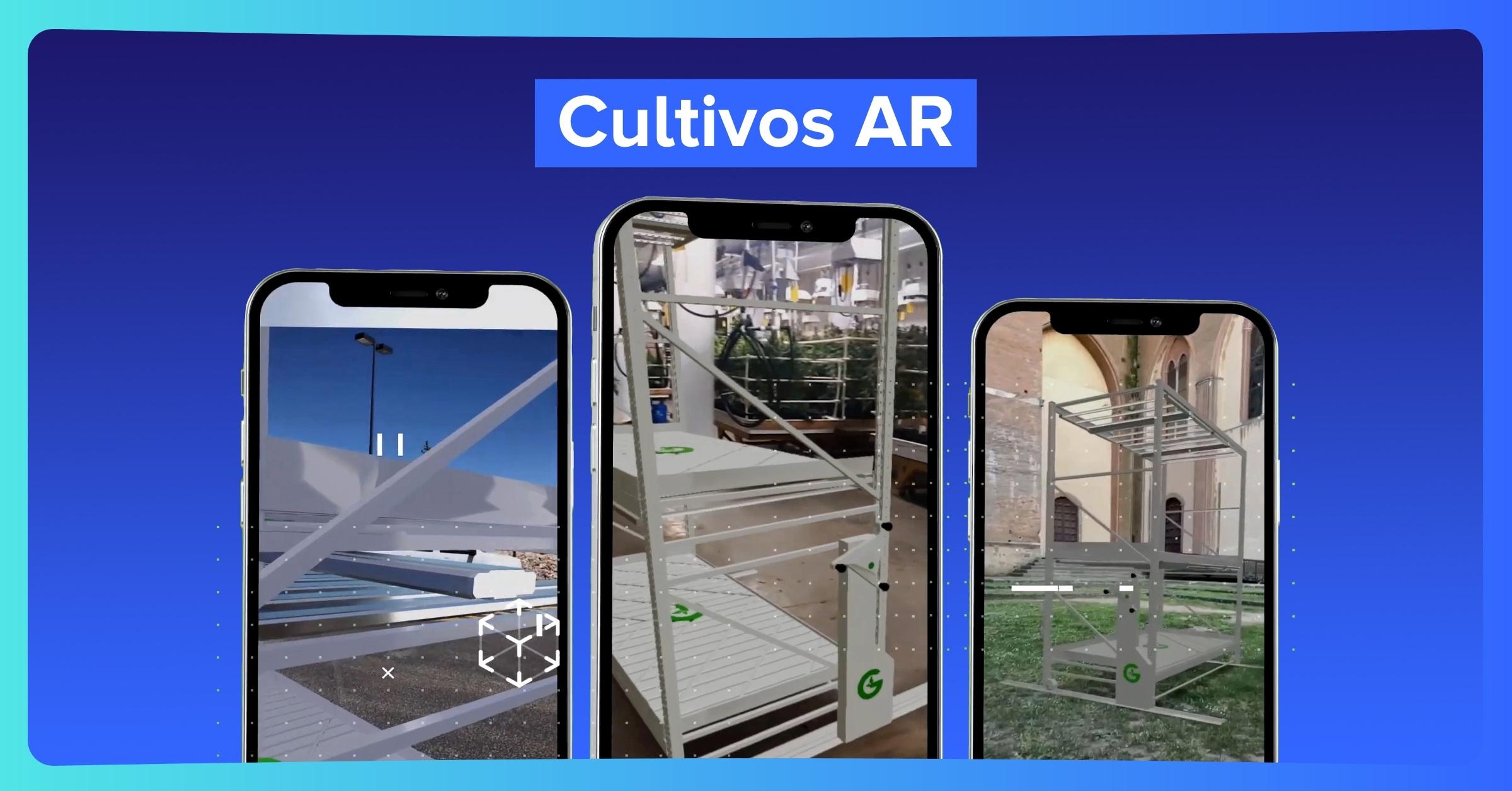 Herramientas AR de cultivo en tiempo real