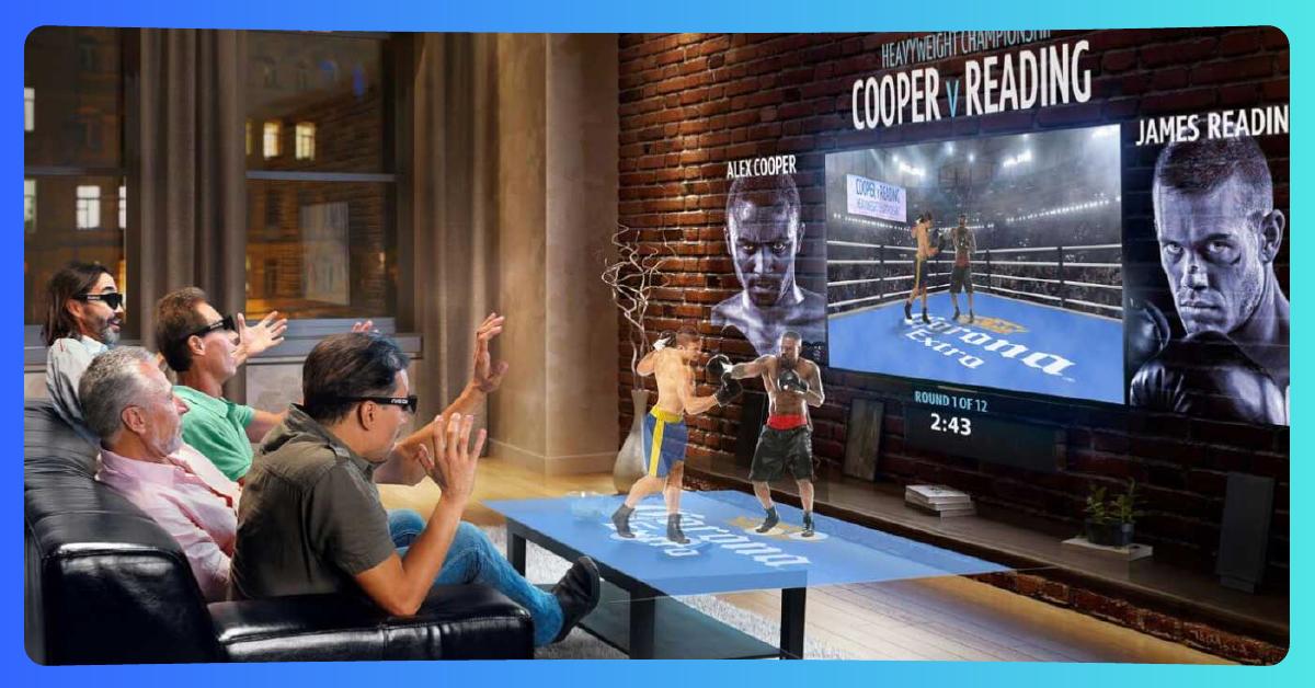 Realidad Aumentada en vivo para TV y entrenamiento